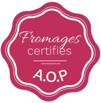 Fromage certifiés A.O.P